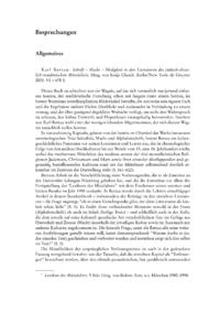 Dokument Karl Bertau: Schrift – Macht – Heiligkeit in den Literaturen des jüdisch-christlich-muslimischen Mittelalters. Hrsg. von Sonja Glauch.