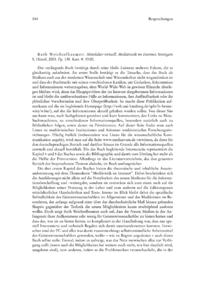 Dokument Ruth Weichselbaumer: Mittelalter virtuell. Mediävistik im Internet.