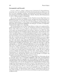 Dokument Frieder Schanze (Hrsg.): Ludwig Sterners Handschrift der Burgunderkriegschronik des Peter von Molsheim und der Schwabenkriegschronik des Johann Lenz mit den von Sterner beigefügten Anhängen. Beschreibung der Handschrift und Edition der Schwabenkriegschronik.