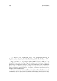 Dokument Kurt Müller: Das amerikanische Drama. Eine Einführung (Grundlagen der Anglistik und Amerikanistik, 28).