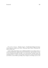 """Dokument Maximilian Gröne: """"Maladie ès lettres"""" – Krankheitsdarstellungen bei Camus, Giono, Beauvoir, Cardinal und Guibert."""