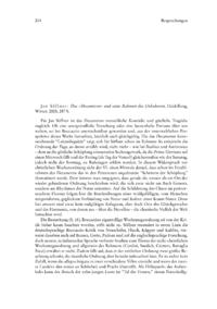 Dokument Jan Söffner: Das «Decameron» und seine Rahmen des Unlesbaren.
