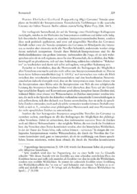 Dokument Hanno Ehrlicher/Gerhard Poppenberg (Hg.): Cervantes' Novelas ejemplares im Streitfeld der Interpretationen. Exemplarische Einführungen in die spanische Literatur der frühen Neuzeit.