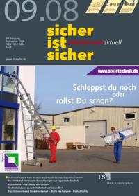 Dokument sicher ist sicher - Arbeitsschutz aktuell Ausgabe 09 2008