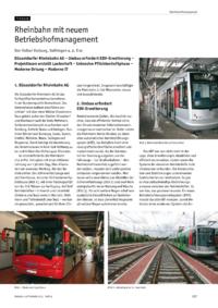 Dokument Rheinbahn mit neuem Betriebshofmanagement
