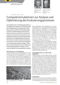 Dokument Computersimulationen zur Analyse und Optimierung des Evakuierungsprozesses