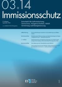 Dokument Immissionsschutz Ausgabe 03 2014
