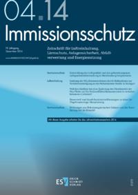 Dokument Immissionsschutz Ausgabe 04 2014