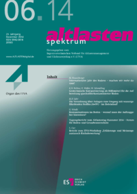 Dokument altlasten spektrum Ausgabe 06 2014