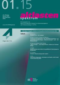 Dokument altlasten spektrum Ausgabe 01 2015
