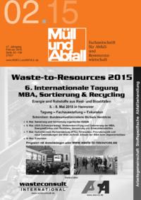 Dokument MÜLL und ABFALL Ausgabe 02 2015