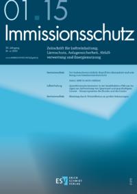 Dokument Immissionsschutz Ausgabe 01 2015
