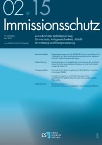 Dokument Immissionsschutz Ausgabe 02 2015