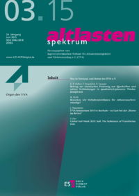Dokument altlasten spektrum Ausgabe 03 2015