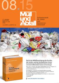 Dokument MÜLL und ABFALL Ausgabe 08 2015