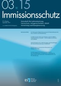 Dokument Immissionsschutz Ausgabe 03 2015