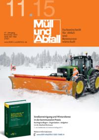 Dokument MÜLL und ABFALL Ausgabe 11 2015