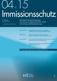 Dokument Immissionsschutz Ausgabe 04 2015
