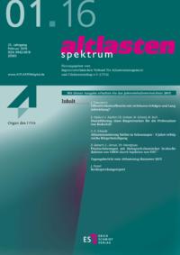 Dokument altlasten spektrum Ausgabe 01 2016