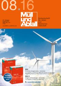 Ausgabe MÜLL und ABFALL Ausgabe 08 2016