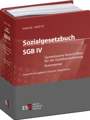 Sozialgesetzbuch (SGB) IV: Gemeinsame Vorschriften für die Sozialversicherung - Abonnement – Kommentar