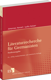 Literaturrecherche für Germanisten