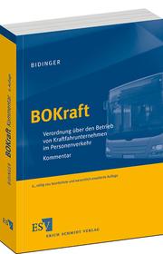 BOKraft – Verordnung �ber den Betrieb von Kraftfahrunternehmen im Personenverkehr   Kommentar