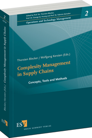 Complexity Management in Supply Chains – Concepts, Tools and Methods