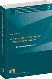 Variety-Induced Complexity in Mass Customization – Concepts and Management