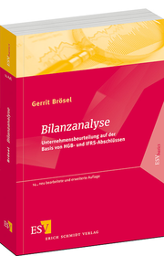 Bilanzanalyse &ndash; Unternehmensbeurteilung auf der Basis von HGB- und IFRS-Abschlssen