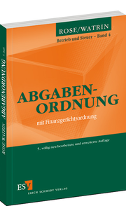 Abgabenordnung &ndash; mit Finanzgerichtsordnung