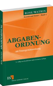 Abgabenordnung – mit Finanzgerichtsordnung