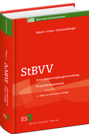 StBVV &ndash; Steuerberatervergtungsverordnung