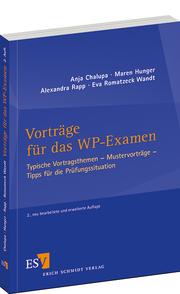 Vortr�ge f�r das WP-Examen – Typische Vortragsthemen — Mustervortr�ge — Tipps f�r die Pr�fungssituation
