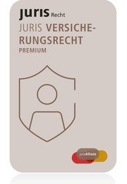 juris PartnerModul Versicherungsrecht Premium - Jahresabonnement – partnered by C.F. Müller | De Gruyter | Deutscher Anwaltverlag | dfv Mediengruppe | Erich Schmidt Verlag | VVW GmbH | ZAP Verlag