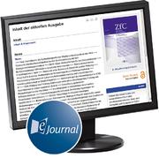 Produktbild Zeitschrift f�r Compliance (ZfC)