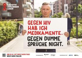 Am 1. Dezember ist Welt-AIDS-Tag