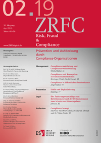 Dokument Risk, Fraud & Compliance Ausgabe 02 2019