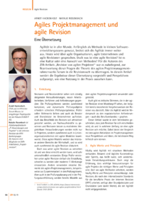 Dokument Agiles Projektmanagement und agile Revision