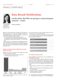 Dokument Data Breach Notifications