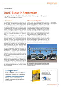 Dokument 100 E-Busse in Amsterdam