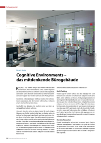Dokument Cognitive Environments – das mitdenkende Bürogebäude
