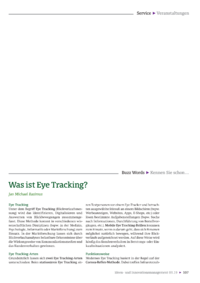 Dokument Was ist Eye Tracking?