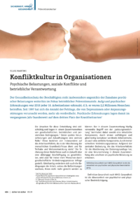 Dokument Konfliktkultur in Organisationen