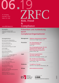 Dokument Risk, Fraud & Compliance Ausgabe 06 2019