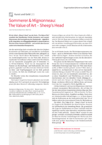 Dokument Sommerer & Mignonneau: The Value of Art – Sheep's Head