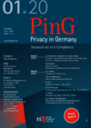 PinG Privacy in Germany Ausgabe 01 2020