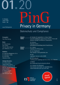 Dokument PinG Privacy in Germany Ausgabe 01 2020