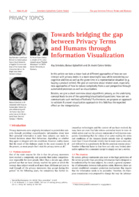Dokument Towards bridging the gap between Privacy Terms and Humans through Information Visualization