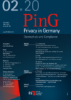 PinG Privacy in Germany Ausgabe 02 2020
